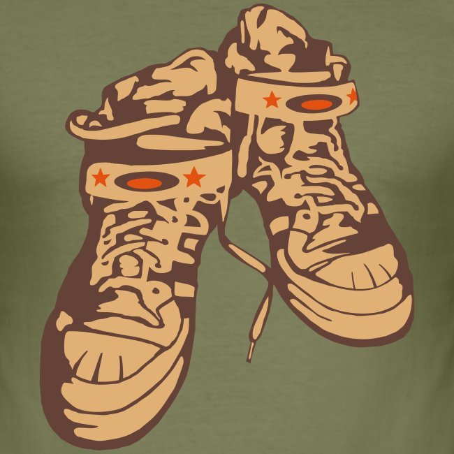 Sneaker / Khaki / Slim