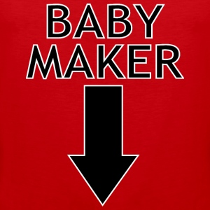 baby maker Tank Tops - Men's Premium Tank Top