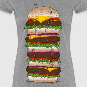 Giant Burger T-Shirts - Frauen Premium T-Shirt
