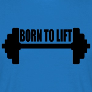 Tee shirt homme Born to lift - T-shirt Homme