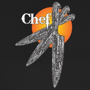 Chef Triple Knife Design Caps & Hats - Baseball Cap