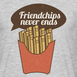 Friendchips never ends - Men's T-Shirt