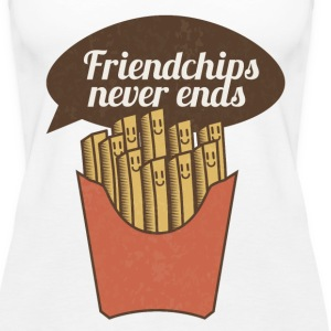 Friendchips never ends - Women's Premium Tank Top