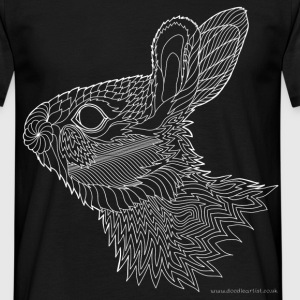 Bright eyed bunny - Men's T-Shirt