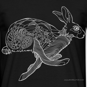 Running hare - Men's T-Shirt