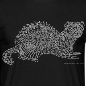 Ferret - white lines T-Shirts - Men's T-Shirt