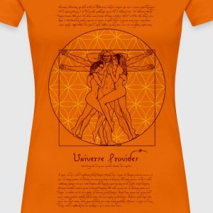 Da vinci in bed - Women's Premium T-Shirt