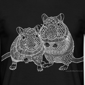 Two gerbils - Men's T-Shirt