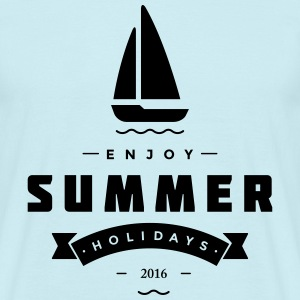 Summer holidays 2016 - Men's T-Shirt