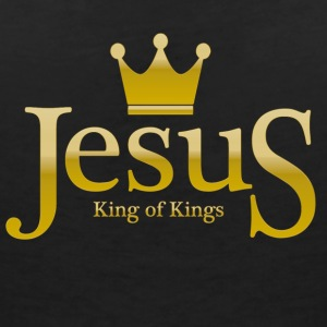 Jesus King of Kings T-Shirts - Frauen T-Shirt mit V-Ausschnitt
