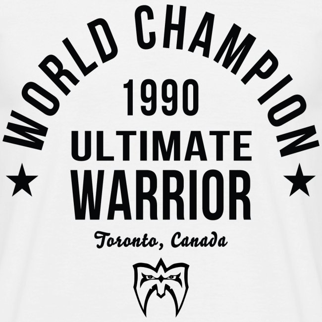 Ultimate Warrior Champion Shirt