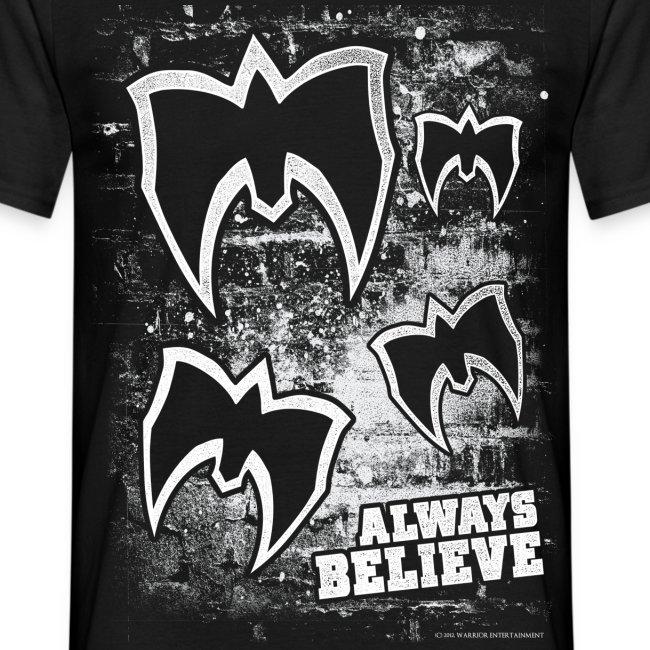 Ultimate Warrior Logo Wall Shirt