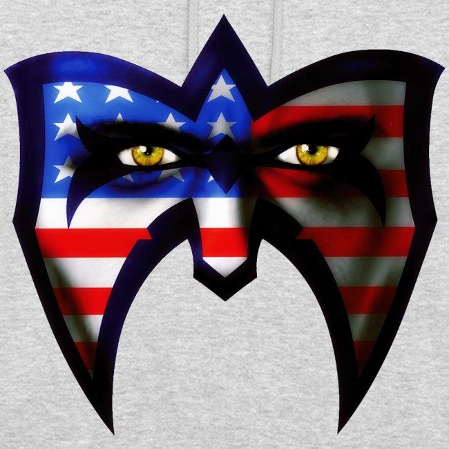 Ultimate Warrior USA Retro Hoodie