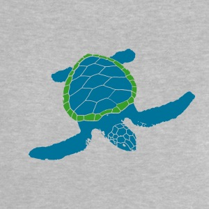 great funny turtle, sea, lake, water, old, dive Baby Shirts  - Baby T-Shirt
