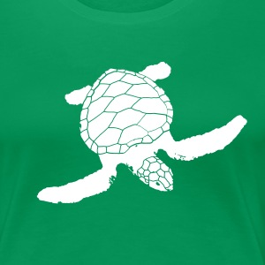 beautiful turtle, sea, ocean, turtle, life, love T-Shirts - Women's Premium T-Shirt