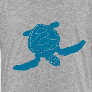 beautiful turtle, sea, ocean, turtle, life, love Shirts - Kids' Premium T-Shirt