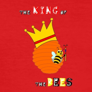 The King of the Bees - Männer Slim Fit T-Shirt