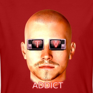 TV ADDICT - Men's Organic T-shirt