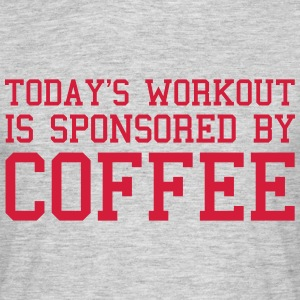 Today's Workout Gym Quote T-shirts - Mannen T-shirt
