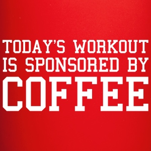 Today's Workout Gym Quote Mugs & Drinkware - Full Colour Mug