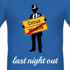 Wildlife Circus / Last Night Out (Stag Party PNG) T-Shirts - Men's Slim Fit T-Shirt