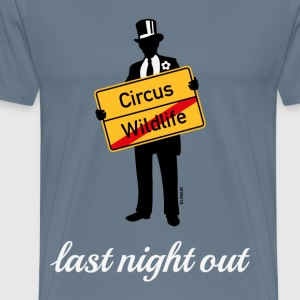 Wildlife Circus / Last Night Out (Bräutigam / PNG) T-Shirts - Männer Premium T-Shirt