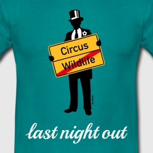 Wildlife Circus / Last Night Out (Bräutigam / PNG) T-Shirts - Männer T-Shirt