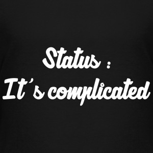It's complicated / Single / Fuck / Sex / Seduction Shirts - Teenage Premium T-Shirt