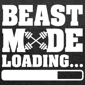The Beast Is Loading T-Shirts - Frauen T-Shirt mit gerollten Ärmeln