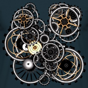 Gears on your gear Men's T-Shirt - Männer T-Shirt