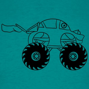 faster turbo cooler small monster truck T-Shirts - Men's T-Shirt