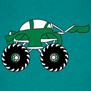 söt cool liten snabbare monstertruck T-shirts - T-shirt herr