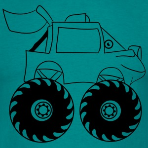 monstertruck T-shirts - Herre-T-shirt