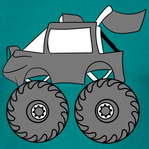 monstertruck  T-skjorter - T-skjorte for menn