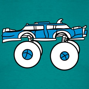 limousine long cool big fast monster truck T-Shirts - Men's T-Shirt