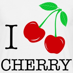 I love cerise - cherry - T-shirt Homme