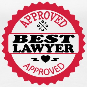 Approved best lawyer T-shirts - Dame premium T-shirt
