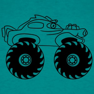 lille monster truck T-shirts - Herre-T-shirt
