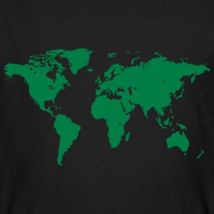 World Map T-Shirts - Männer Bio-T-Shirt