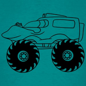 small cooler fast monster truck T-Shirts - Men's T-Shirt