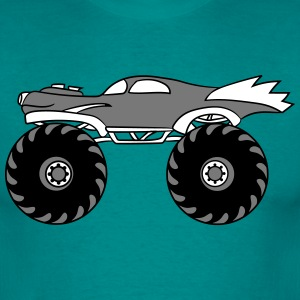 small cool monster truck turbo T-Shirts - Men's T-Shirt