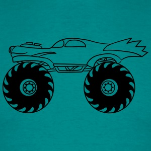 liten kylare monstertruck T-shirts - T-shirt herr