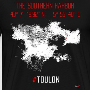 Toulon harbor - T-shirt Premium Homme