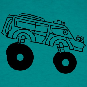 cooler turbo great fast monster truck T-Shirts - Men's T-Shirt