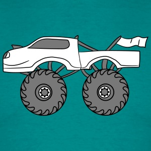cool lille monster truck T-shirts - Herre-T-shirt