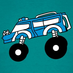 cool big fast monster truck T-Shirts