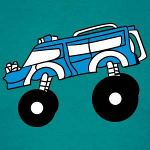 cool big fast monster truck T-Shirts - Men's T-Shirt