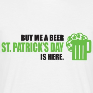 Give me beer Irish png - Men's T-Shirt