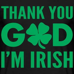 Thank God I'm Irish png - Men's T-Shirt