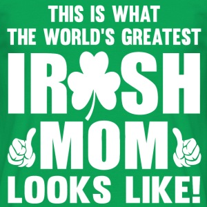Irish mom png - Men's T-Shirt